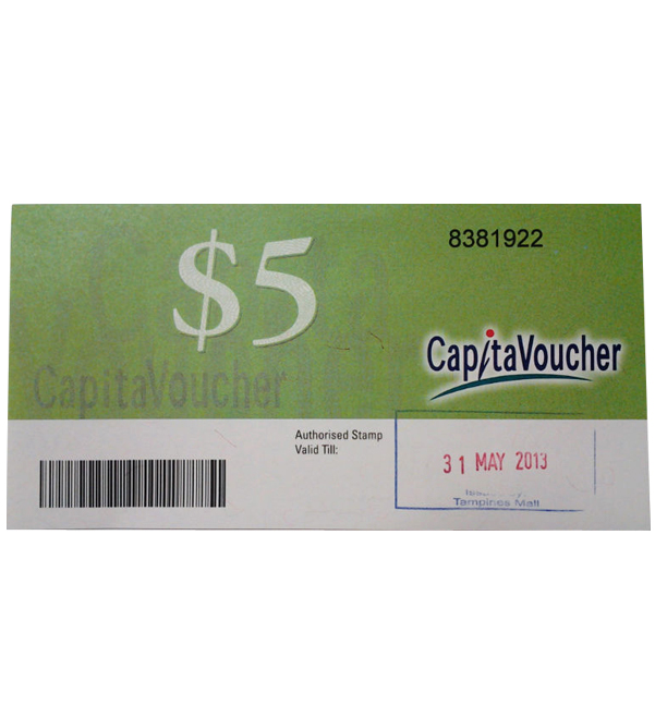 CapitaVoucher $5